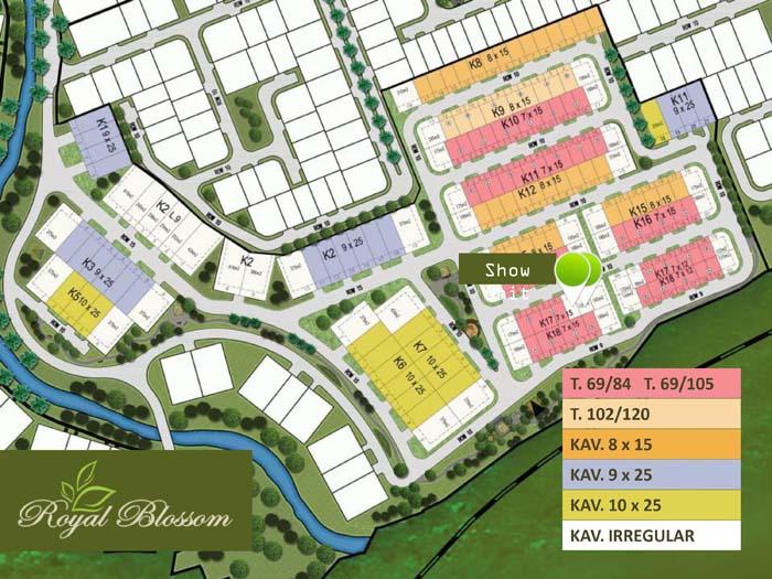 The Green - Royal Blossom & Blossom Ville BSD City